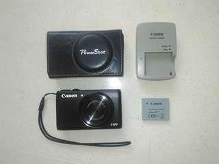 Canon S120 + Leather Case