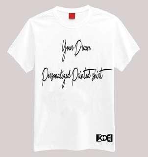 KDE Customised T-shirt Printing