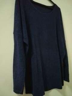 Sweater women dark blue