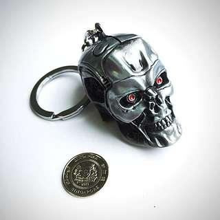 BN Terminator Skull Metal Key Chain