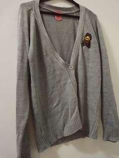 Woman jacket sweater abu2 gray rolink