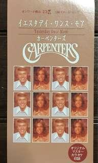 Carpenters / Yesterday Once More single, mini CD