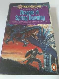 Story book Dragons of spring dawning by Margaret Weis & Tracy Hickman