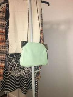 Bardot Mint Green Shoulder Bag