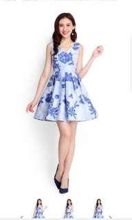 Lilypirates All That Shimmers Dress In Azure Blue