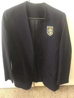 William Clarke uniform blazer