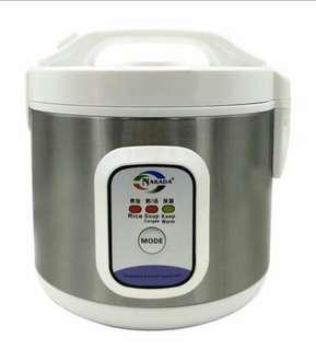 FreeShipping:Nakada Mini Rice Cooker (FG 022) 2L