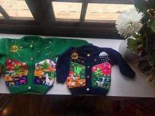Peruvian Knit cardigans