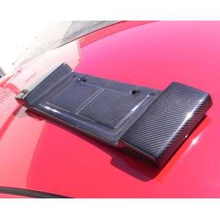 Toyota Celica License Plate Original Carbign Craft Rear License Backing
