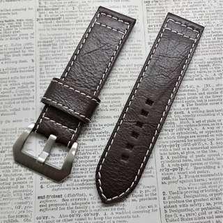 Watch leather strap #H-3