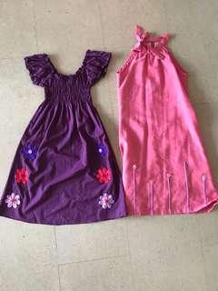 2 dresses in excellent condition