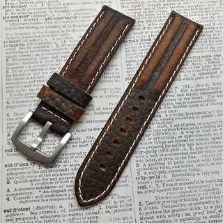 Watch leather strap #045