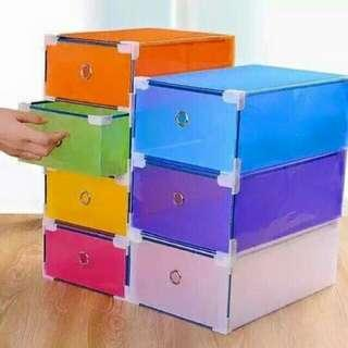 FREESF 12pcs stockable shoe box