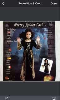 Pretty Spider Girl Costume
