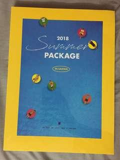 BTS PHOTOBOOK SUMMER PACKAGE 2018
