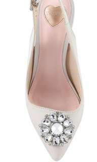 Embellished Slingback Heel Size 39