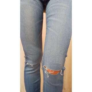 Ripped jeans cottonink