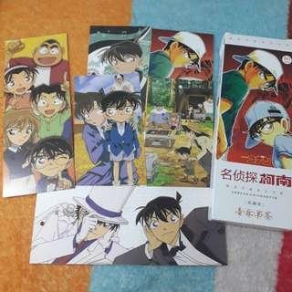 Detective Conan Bookmark Pembatas Buku isi 72 item ready stock