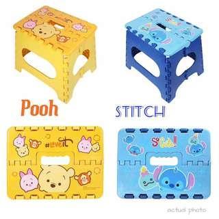 Winnie the pooh / stitch stool