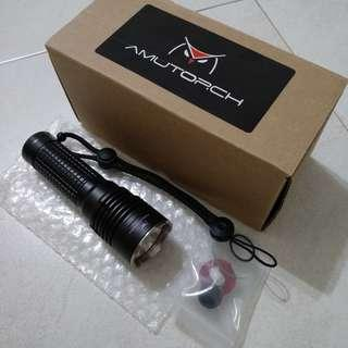 (Last pc) Amutorch JMX8 CREE XM-L2 1000lm 26650 Flashlight.