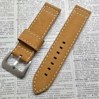 Watch leather strap #086