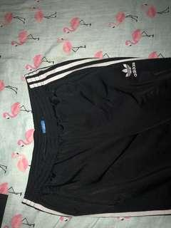 Adidas track pants size small