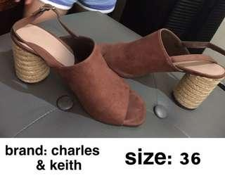 Charles & Keith Mules