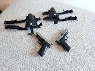 1/6 P226 with left & right leg holster [phicen / TBLeague / verycool vc-cf-02]
