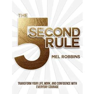 The 5 Second Rule The Surprisingly Simple Way to Live, Love, and Speak with Courage 📕e-book