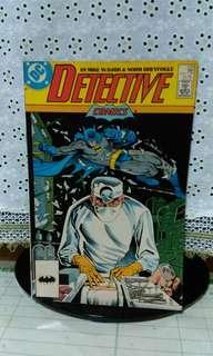 Vintage 1987 DC Detective Comics#579