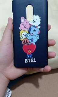 BT21 phone case for xiaomi redmi note 4