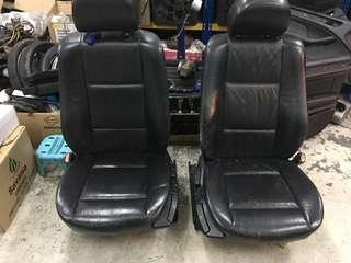 E46 Manual Leather Seat Complete Set