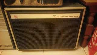 Vintage amp / amplifier (rental only)