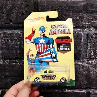 Collector's Item Hotwheels Captain America 40 Ford Coupe (Postage Included)
