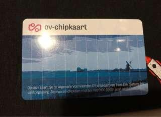 Ov cars/ov卡/OV chipkaart/荷蘭交通卡