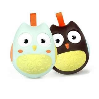Owl Rattle Tumbler Toy Break Resistant
