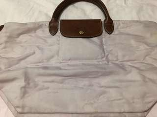Longchamp Bag Tote Pink Authentic