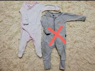 Baby girl BONDS sleepsuit (0-3m)(1pc left)