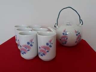 Tea set by Dumex