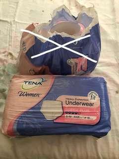 🚚 Tena women's adult diaper super adsorbent original