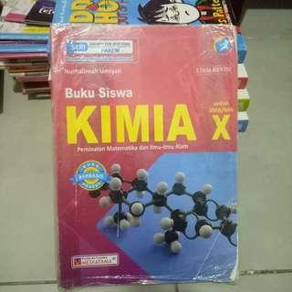 Buku Peminatan Kimia SMA Kelas 10 Kurikulum 2013 Edisi Revisi