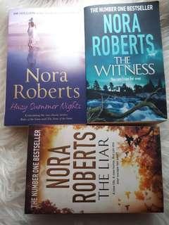 Nora Roberts English Novels #oct10