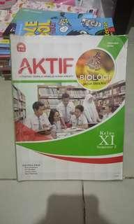 Aktif Biologi Kls XI Smt. 2  SMA/MA Kur. 2013 (Revisi)
