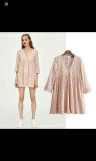 Zara Inspired!  Dress-Romper (hindi authentic)