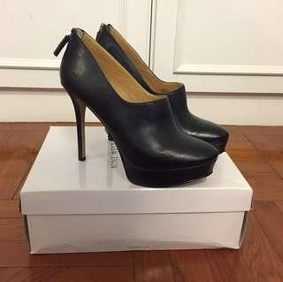 Leather High Heel Boots (95% NEW)