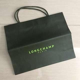 Longchamp L paperbag