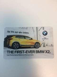 BMW collectible ez card
