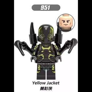 Lego Compatible Yellow Jacket