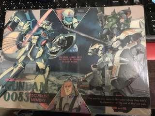 中古Gundam書墊