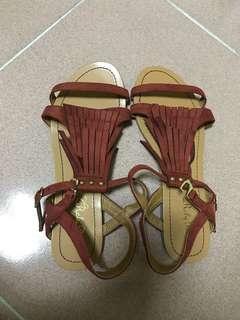 流蘇涼鞋 似Minnetonka